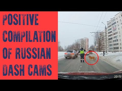 Positive Compilation Of Russian Dash Cams
