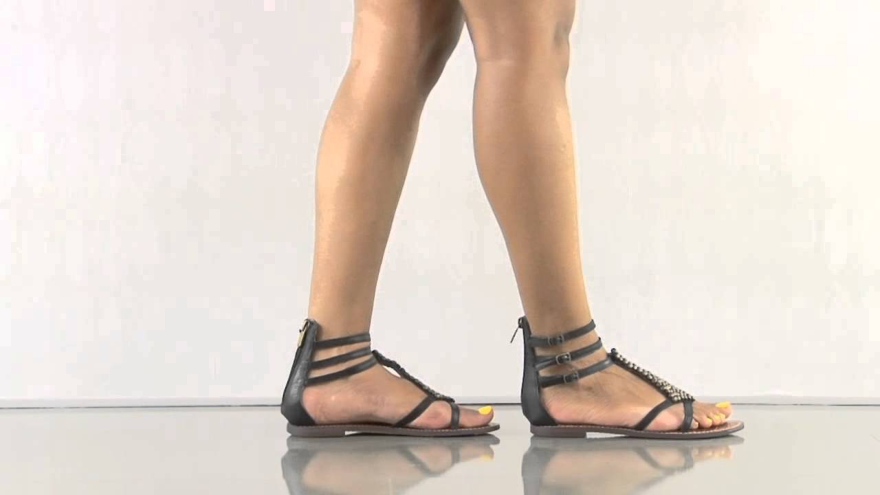 a916573db45 Ginger in Black Leather Sam Edelman - YouTube