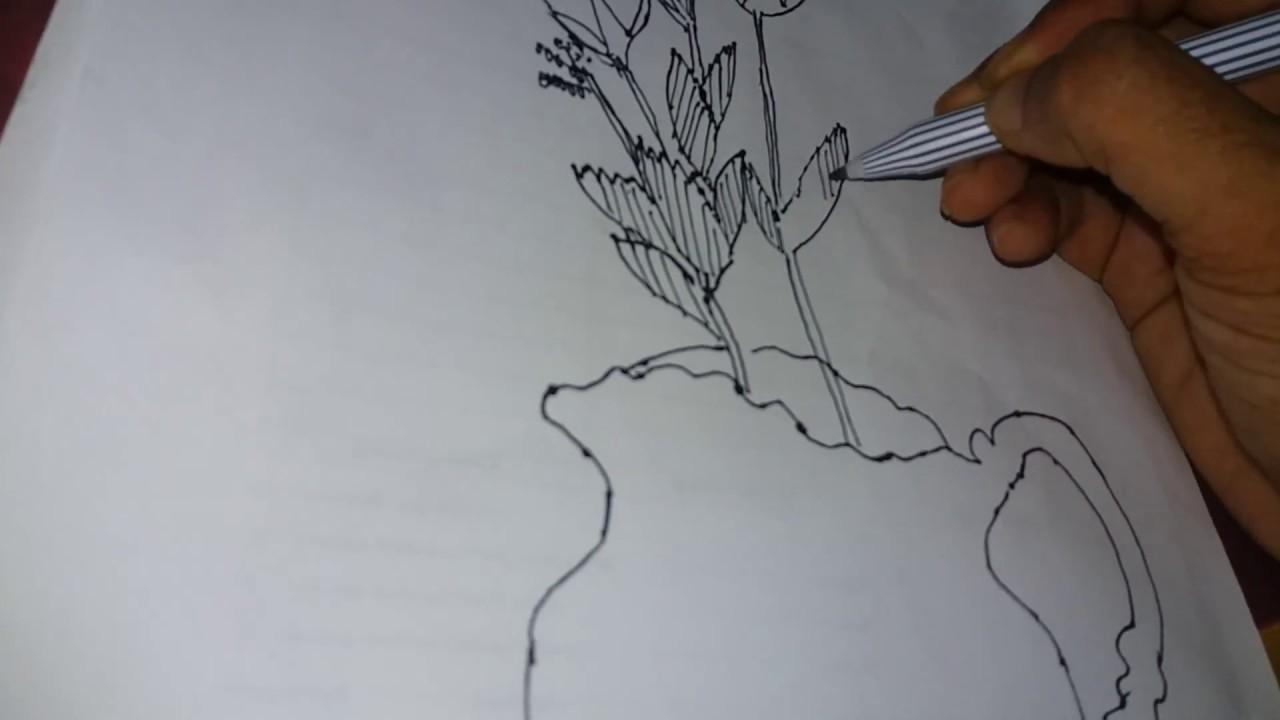 65 Gambar Lukisan Guci Sederhana Terlihat Keren