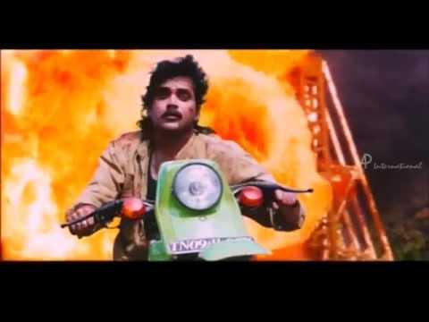 Ratchagan Movie Cliamx Scene | Nagarjuna and Sushmita unite | Raguvaran and Girish Karnad
