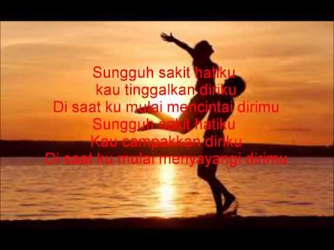 Lirik Lagu Dadali Sakit Hatiku