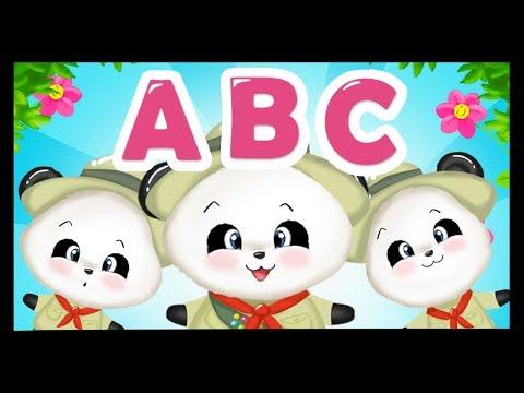 Un jour la troupe campa AAA - L'alphabet des scouts Titounis - Apprendre l'alphabet