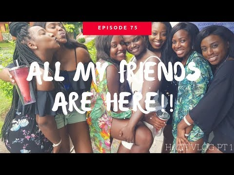 Vlog 75| WE'RE IN HAITI!!!!!! #HAITI2018 - pt. I