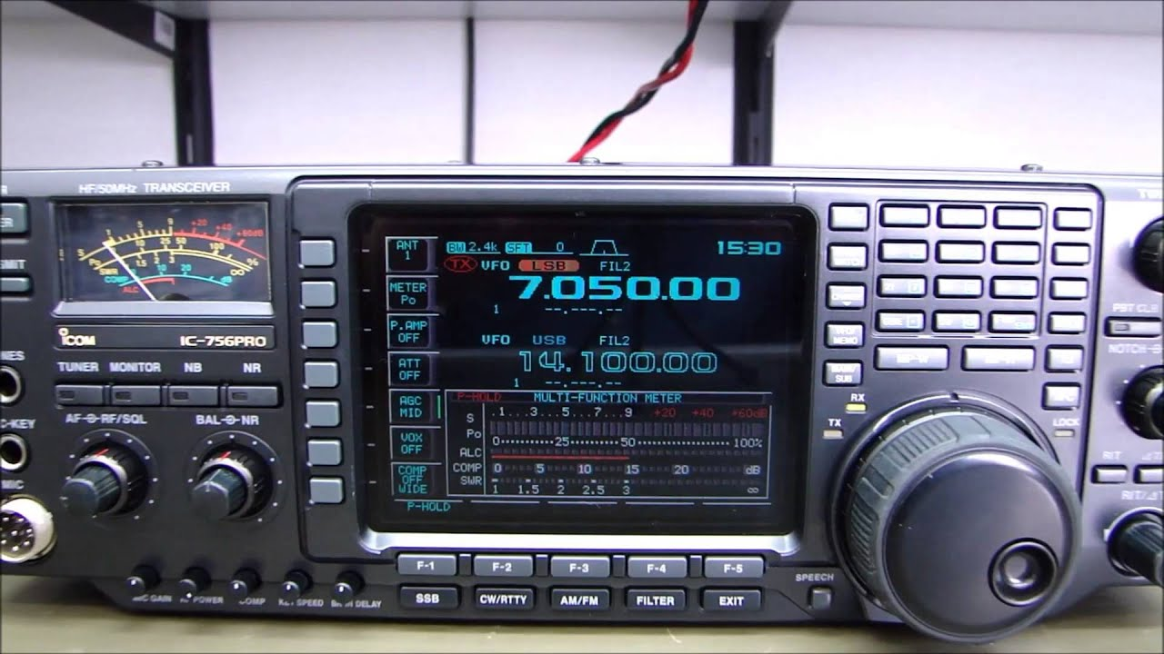 ALPHA TELECOM: ICOM IC-756PRO MANUTENÇÃO NO ACOPLADOR e REVISÃO COMPLETA
