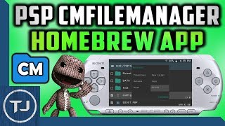 PSP How To Install CMFileManager! (Best File Manager App)