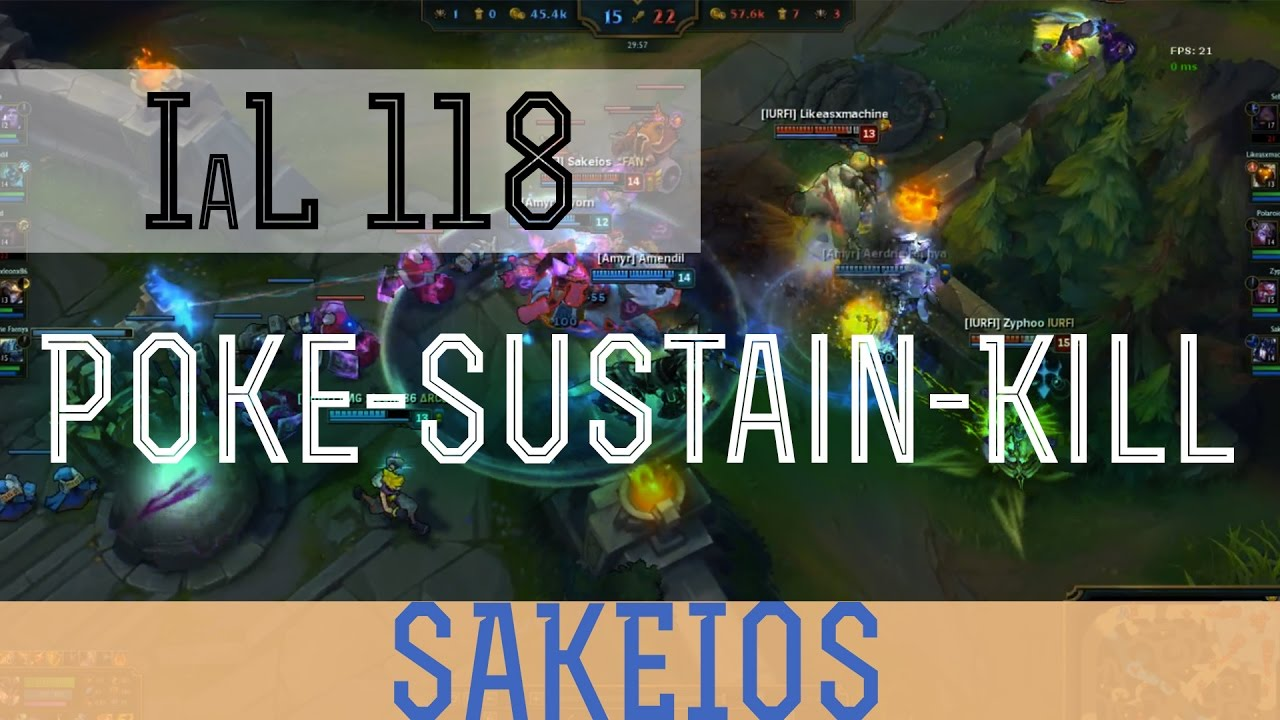 POKE - SUSTAIN - KILL TRIANGLE- League of Legends Guide