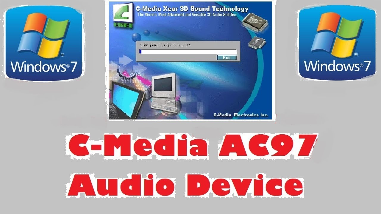 C MEDIA 9738 9739 9761 AC97 CODEC WINDOWS 7 X64 TREIBER