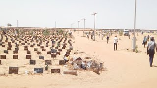 Enterrement de Fallou sene à Touba