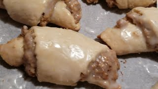 Nut Horn Pastries
