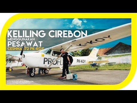 BERASA PESAWAT PRIBADI - PENGGUNG CIREBON [ PROFLIGHT PILOT SCHOOL ] #sigvlog