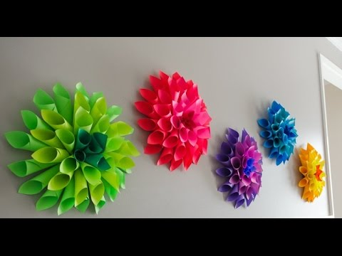 Easy to make paper flowers easy and quick paper flowers tutorial easy to make paper flowers easy and quick paper flowers tutorial mightylinksfo