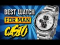 Best Casio Watches for men (g shock watches and edifice casio)