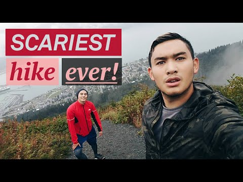 Scariest Hike Ever!! (Alaska Day 3) - ohitsROME vlogs