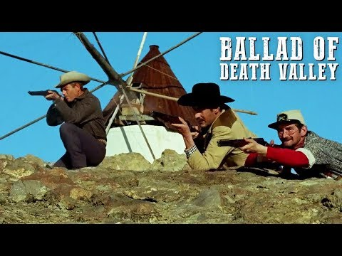 Ballad Of Death Valley | FULL WESTERN MOVIE | Action | Cowboy Film | Free Movie