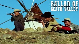Ballad of Death Valley   FULL WESTERN MOVIE   Action   Cowboy Film   Free Movie