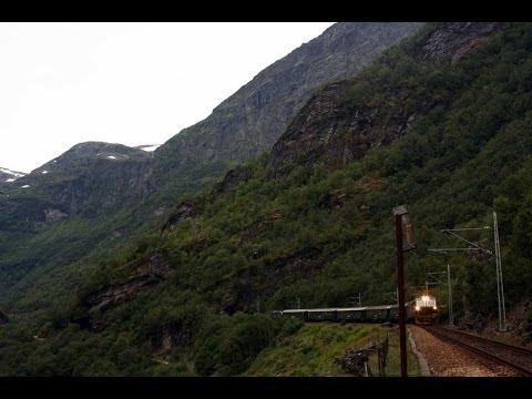Flåmsbana/Flåmsbanen er Norges smukkeste jernbane fra Rejseprogrammet.dk