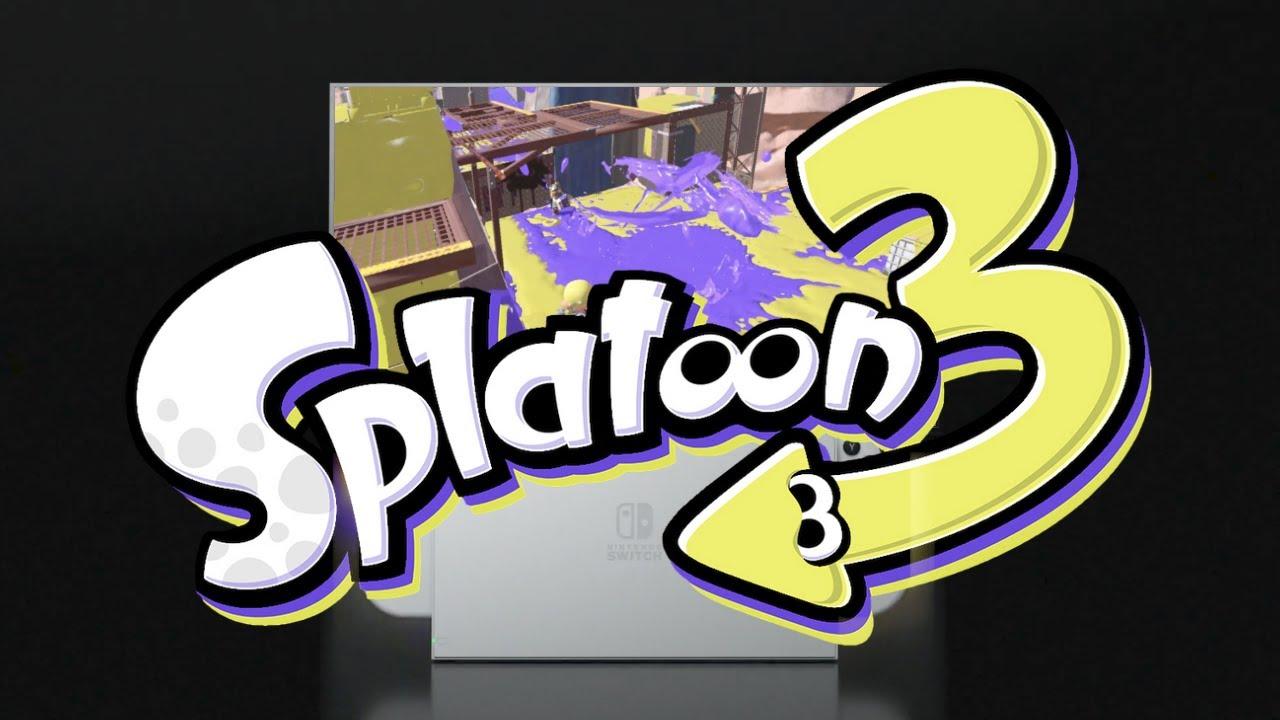 Splatoon 3 Details shown in the Nintendo Switch (OLED) trailer