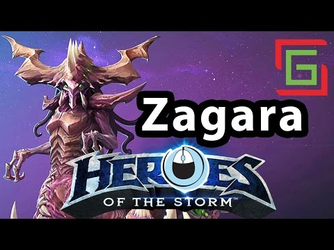 Heroes of the Storm — Zagara hero — TANGAR GAMING — LIVE STREAM