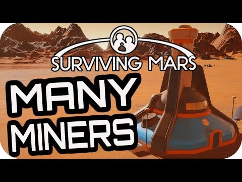 SURVIVING MARS: MINING COLONY SETUP! #14 Lets Play Surviving Mars Gameplay