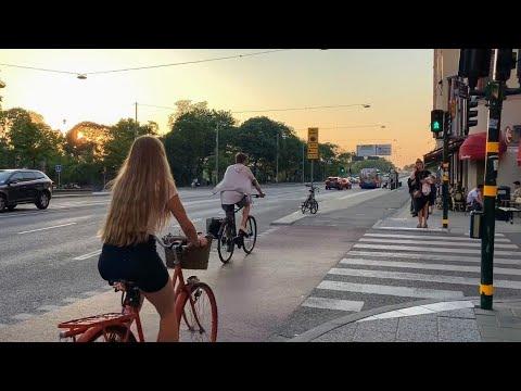 Stockholm Summer Night Walk part 1: Hornsgatan to Långholmen on National Day