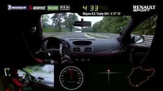 Renault Mégane R.S. 275 Trophy-R Nürburgring Nordschleife lap record (short version) #UNDER8