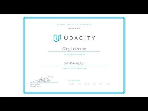 Udacity Self Driving Car Engineer Nanodegree Graduate