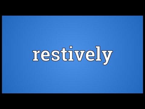 Header of restively