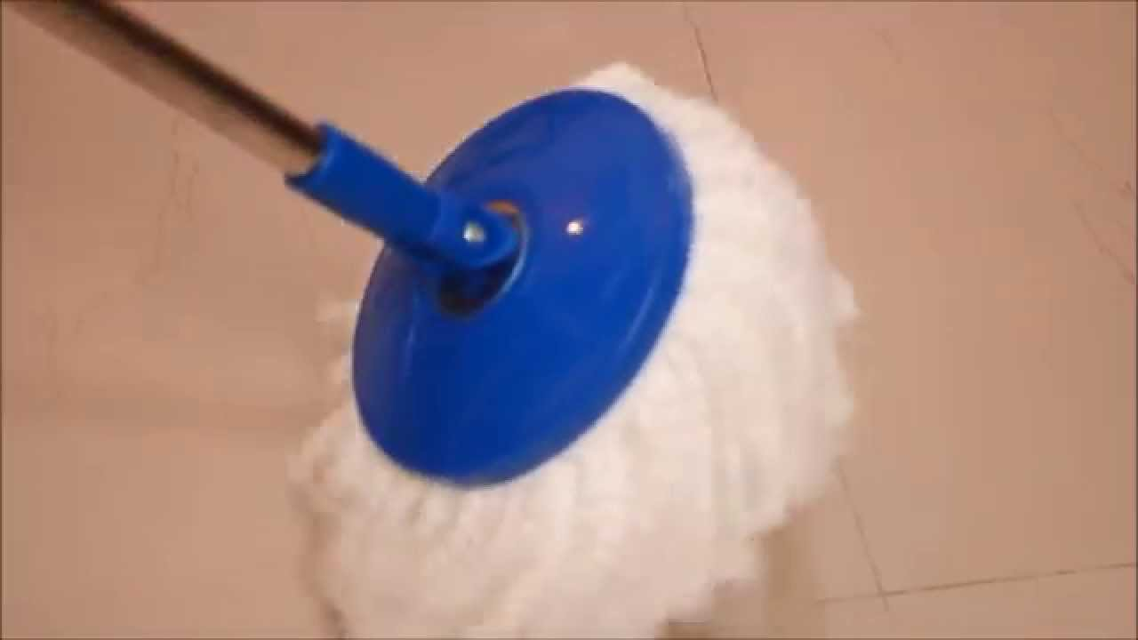 How to use MOP for Cleaning Floor - Gala SPIN MOP - Video Demo