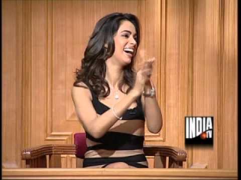 Mallika Sherawat in Aap Ki Adalat (Part 5) - India TV