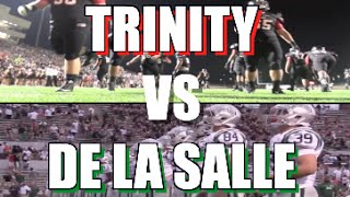 Trinity  (TX) vs De La Salle (CA) UTR Highlight Mi