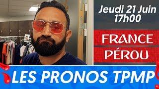 France - Pérou : Les pronostics de Cyril Hanouna et des chroniqueurs de TPMP
