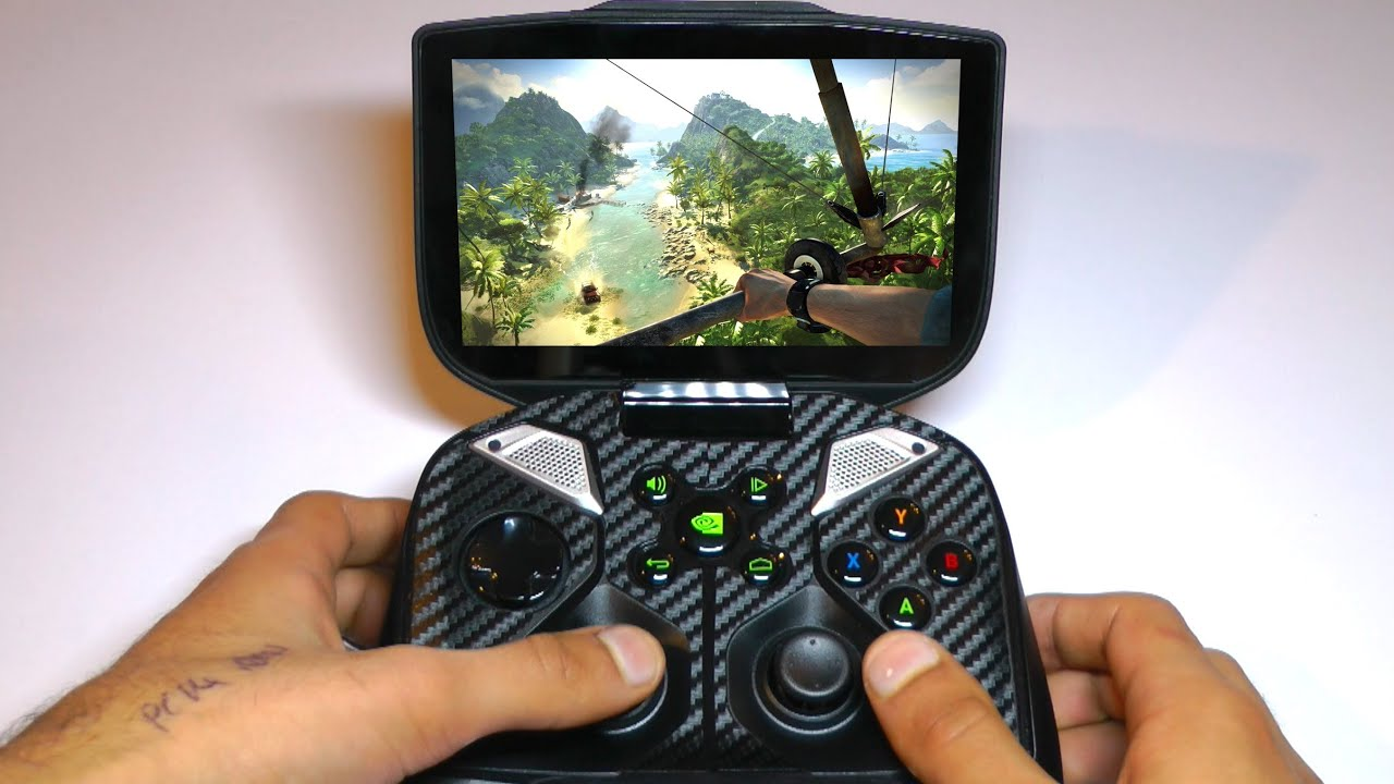 Nvidia Shield Playing Pc Games 120 Miles From Home