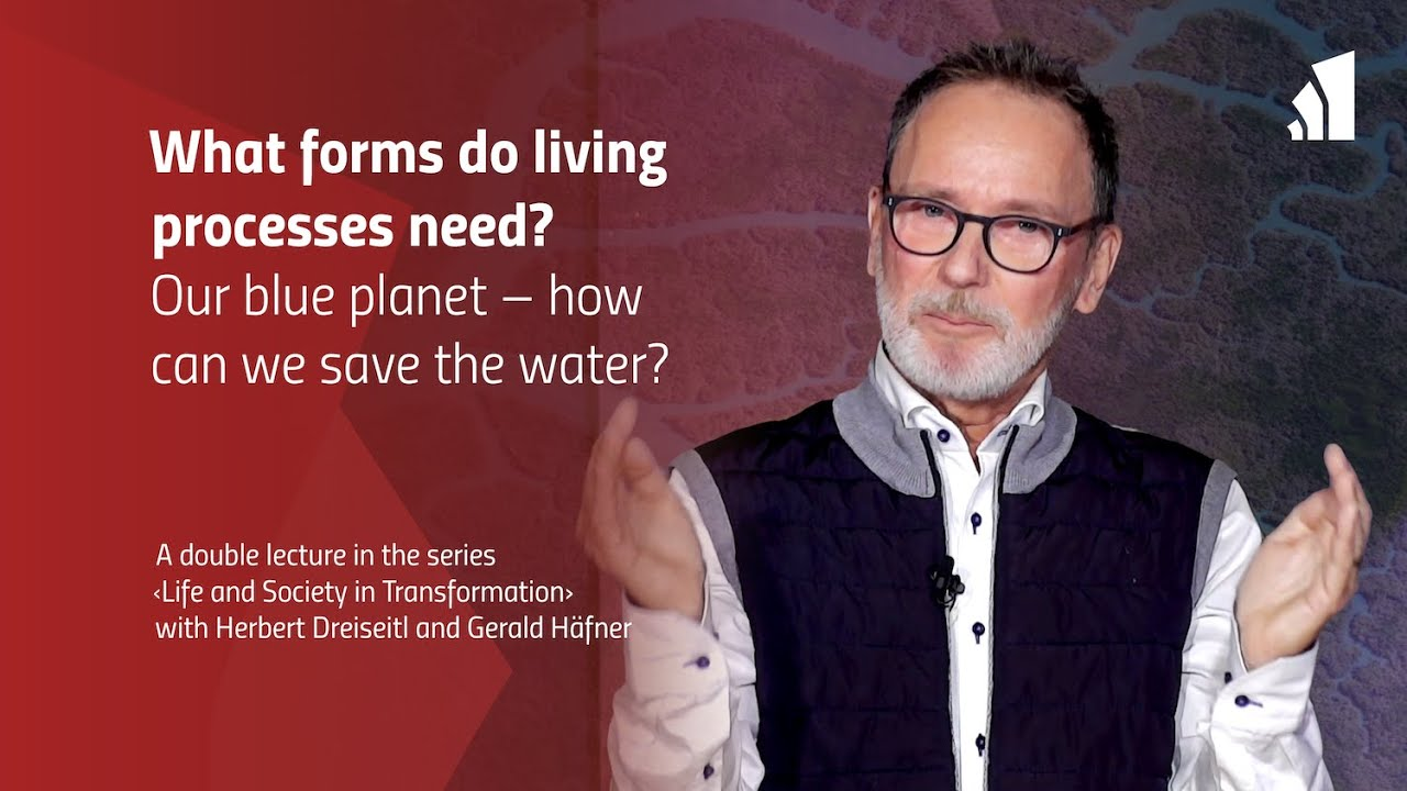 What forms do living processes need? – Our blue planet: how can we save the water?