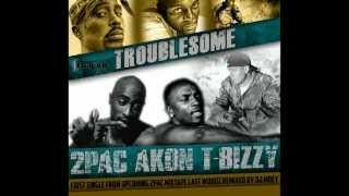 [NEW] 2Pac ft. T-Bizzy and Akon - Troublesome (DJ Moey Remix)