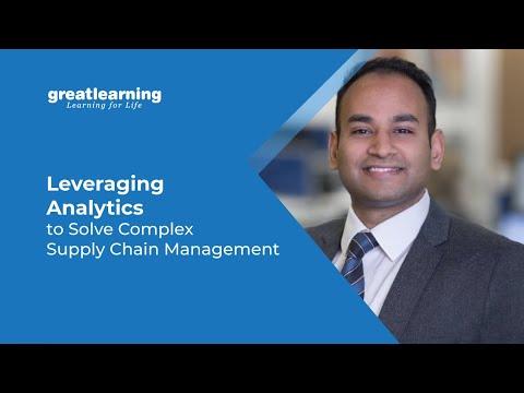 Using Analytics in Supply Chain Management | Data Analytics in Supply Chain