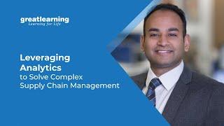 Using Analytics in Supply Chain Management | Data Analytics in Supply Chain | Great Learning