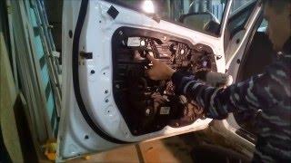 Снятие обшивки водительской двери KIA Ceed. Полный разбор. Kia cee
