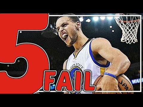 TOP 5 BIGGEST FAILS in NBA Playoffs History