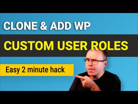 How to Add and Clone User Roles in Wordpress? (2 easy methods)