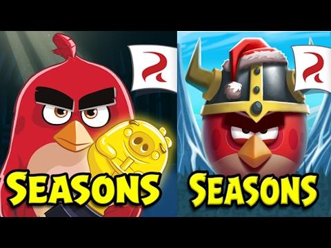 Обзор игры Angry Birds Seasons (Злые Птички: Времена Года) 2 игра серии Энгри Бердз