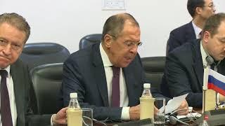 Выступление С.Лаврова в ходе встречи министров иностранных дел РИК