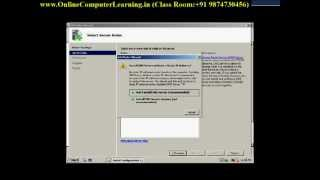 active directory domain service ad ds step by step installation on microsoft windows 2008 server