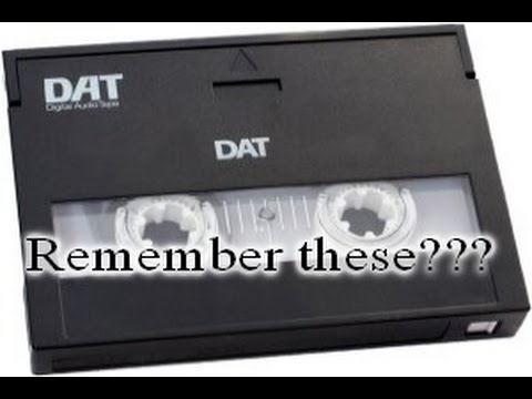 DAT Tapes - Remember these? Music Biz 101