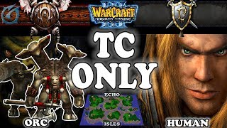 Grubby | Warcraft 3 TFT | 1.29 | ORC v HU on Echo Isles - TC Only