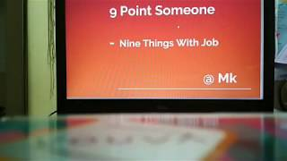 upsc 9 point someone nine things with job chapter 2 by manish kumar air 61
