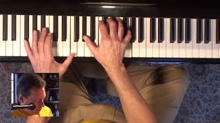 Negative Harmony blues. Jazz Piano College 403