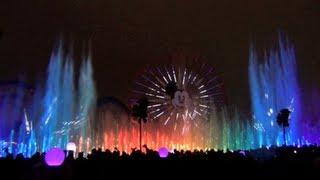 world of color full show at disney california adventure park