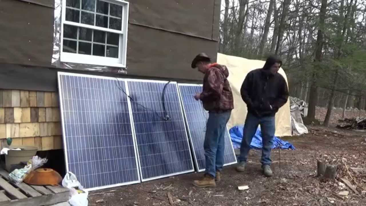 Solar Panels For Tiny House