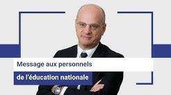 #Covid-19 : concertation et préparation d'une reprise progressive des établissements scolaires