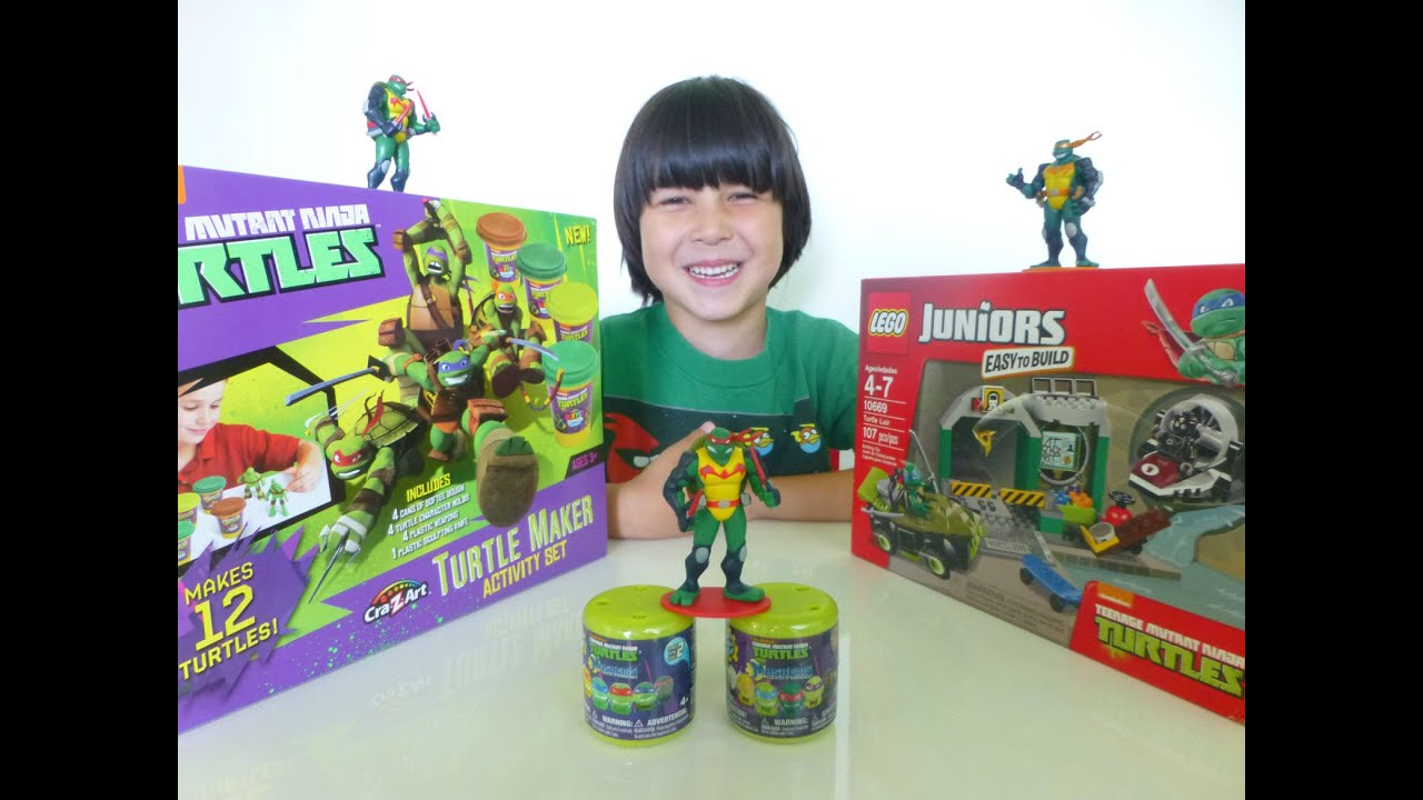Ninja Turtles LEGO Juniors Building Set - Turtle Lair ...